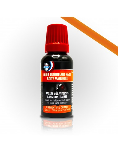 Lubrifiant Mos2 boite manuelle Huile En 50 ml